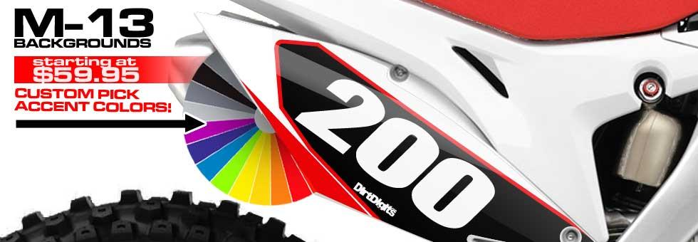 Custom Motocross Graphics And Accessories For Honda Ktm Kawasaki