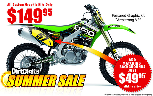 Summer Graphic Kit Sale - $149.95 Save 25%!