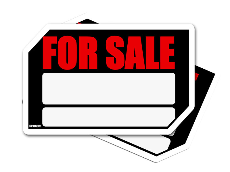 The Ultimate Dirt Bike For Sale Signs