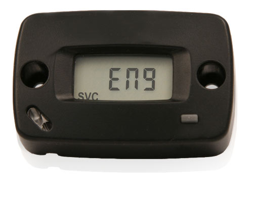 Hour Meter Made In Usa : Hardline products motocross re settable hour and