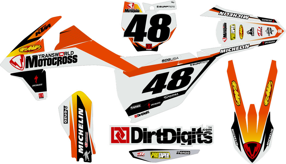 Ktm  Custom Graphics