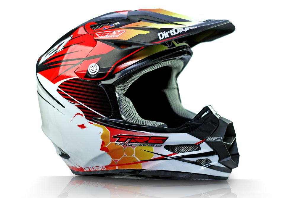 Custom Helmet Wrap Graphic - Custom graphic vinyl decals for motorcycle helmets