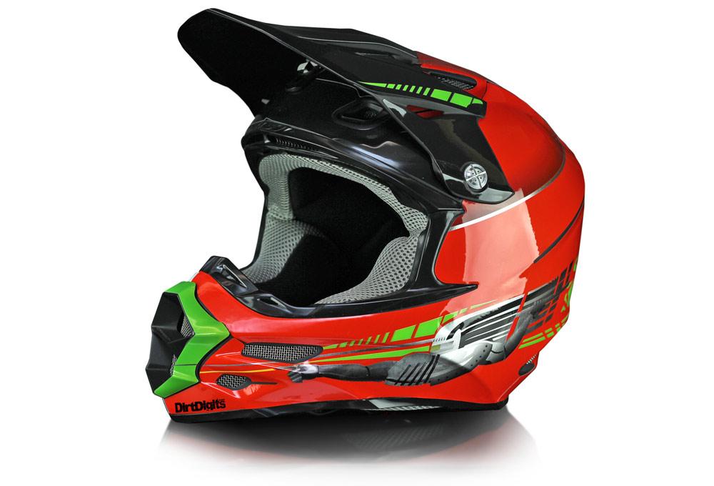 Premium Custom Helmet Wraps Decals - Custom motorcycle helmet decals