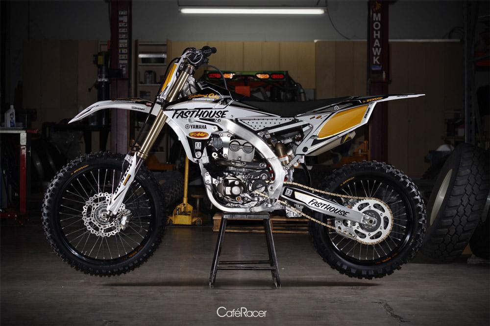 Dirtdigits Yamaha Cafe Racer Custom Graphic Kit Plus